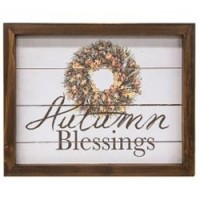 Autumn Blessings Easel