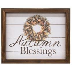 Autumn Blessings Easel