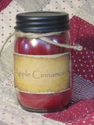 Apple Cinnamon Jar Candle