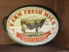 Farm Fresh Milk Serving Tray
