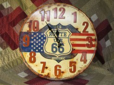 Rt. 66 Clock