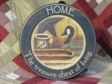 Home is the Treasure Chest of Living