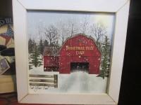 Winter Christmas Tree Farm