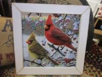 Winter cardinal sign
