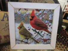Winter cardinal sign